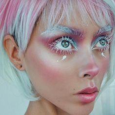 Epic Alien Makeup. 23 Cool & Crazy Ideas https://fazhion.co/2017/09/15/alien-makeup-23-cool-crazy-ideas/ he sight of lips, for example, is sufficient to make some folks salivate in lust. You're holding in your hands the only copy of the absolute most incredible book on the planet, The Book of Solutions #'coolmakeupideas'