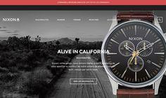 Nixon Watches — http://www.nixon.com/fr/fr/ #Montres #E-commerce #Produit