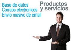 Productos y servicios Base de Datos Correos Electronicos Envio Masivo de email www.visocym.com Base, Movies, Movie Posters, Shopping, Page Layout, Products, Films, Film Poster, Cinema