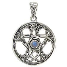 silver celtic moon jewellery - Google Search