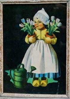 Vintage Dutch girl