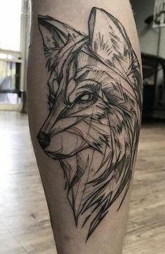 Die 230 besten Wolf Tattoos im Internet [Femininas e Masculinas] Wolf Tattoos Men, God Tattoos, Life Tattoos, Body Art Tattoos, Small Tattoos, Tattoos For Guys, Tatoos, Wolf Tattoo Design, Tribal Wolf Tattoo