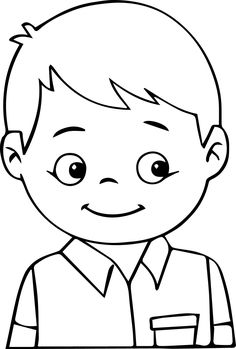 ERKEK ÇOCUK BOYAMA ile ilgili görsel sonucu Art Drawings For Kids, Disney Drawings, Drawing For Kids, Easy Drawings, Art For Kids, Coloring Sheets, Coloring Pages, Colouring, Boy Illustration