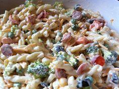 Creamy Pasta Salad by DesignedbyDawnNicole, via Flickr