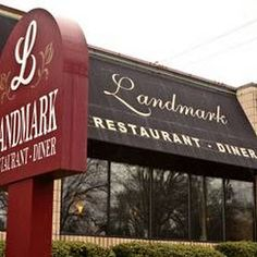 """✓ Landmark Restaurant Diner, Charlotte, NC. Saw on """"Diners, drive-ins, and dives"""" meatball marsala, spanakopita, turkey and stuffing... can't wait!"""