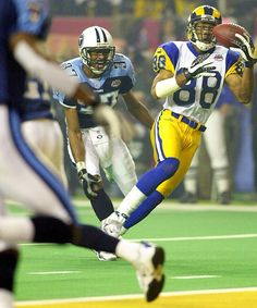 Super Bowl XXXIV, January 30, 2000 Rams Torry Holt TD!
