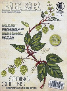 Cover for BEER magazine
