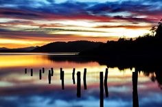 Sunrise in Bariloche by Guillermo Palavecino San Carlos de Bariloche, usually known as Bariloche, is a city in the province of Río Negro, Argentina, situated in the foothills of the Andes on the southern shores of Nahuel Huapi Lake. It is located within the Nahuel Huapi National Park. #Sun #landscape #nature #photo #image