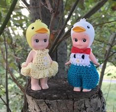 Love crocheting outfits for Sonny Angels