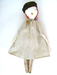 Parisian Jess Brown Doll.  I seriously love these dolls, especially this one.     Time to make another doll inspired by this one. :)