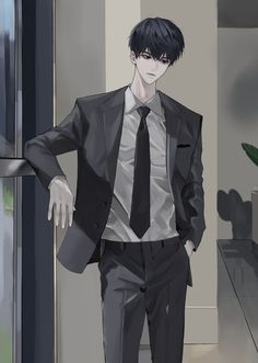 Manga Boy, Manga Anime, Anime Art, Cute Anime Boy, Cute Anime Couples, Anime Boys, Anime Boy Zeichnung, Dark Anime Guys, Handsome Anime Guys