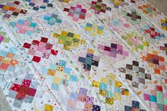 I first saw this quilt here , and LOVED it. Some quilts I like and some I love and this one I really, really loved. I had to make one t...