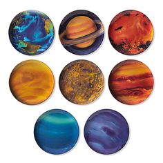 Planetary Plates: Solar System for Lunch
