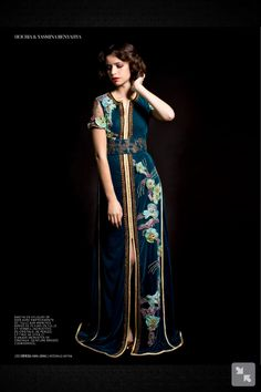 Asian inspired ??? From l'officiel maroc caftan edition jan 2013?
