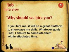 Answers to the most common job interview questions!