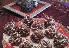 Σοκολατένια κουκουνάρια