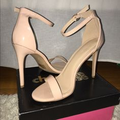 Shop Women's Charlotte Russe Cream size 9 Heels at a discounted price at Poshmark. Description: Two-piece dress sandals size New in box, but box slightly worn. Charlotte Russe Heels, Two Piece Dress, Dress Sandals, Cream, Color, Shoes, Things To Sell, Products, Fashion