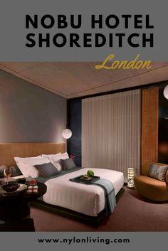 London's Shoreditch Nobu luxury hotel.