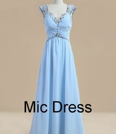 Straps sleeveless floor-length with beading and sequins long prom/Evening/Party/Homecoming/cocktail /Bridesmaid/Formal Dress  $115