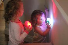 DIY Fiber Optic Sensory Cave by theimaginationtree #Kids #Fiber_Optics #DIY