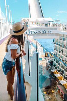 Photo Diary: Royal Caribbean's Oasis of the Seas (Visiting Nassau, St. Marteen) - Keeping Up with Kahla Cruise Travel, Cruise Vacation, Vacation Photo, Italy Vacation, Cruise Ship Pictures, Royal Caribbean Oasis, Short Cruises, Fun Walk, Celebrity Cruises