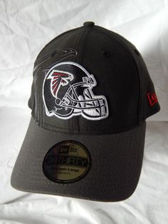 Atlanta Falcons Fitted Mens Size M/L 39Thirty New Era Hat Logo NFL Team Apparel…