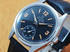 ba927988315d Omega Seamaster 30 Sub Second Vintage Watch 1947 by TheWatchMall