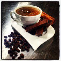Un chocolate no solo para el alma también para el frío !!!