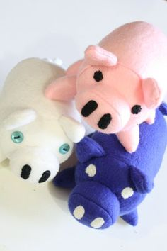 Plush Pig Tutorial and Pattern