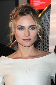 """Diane Kruger  Actress: """"Stila Color Push-Ups for cheeks in Berry Flash"""""""