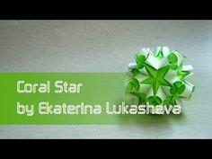 "Modular Origami Tutorial: Kusudama ""Coral Star"" (Ekaterina Lukasheva) - YouTube"