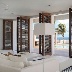 door idea for master bedroom looking out to courtyard
