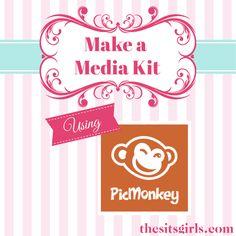How to Make a Media Kit Using PicMonkey + Media Kit Examples - TheSITSGirls.com