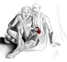 Solas and Lavellan romance, Solavellan, Dragon Age: Inquisition