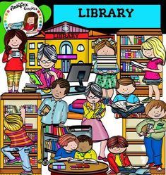 *50% off for the first 48 hours*Library clip art set contains 28 image files, which includes 14 color images and 14 black & white images in png.The set includes:Books, Bookshelf with books1Bookshelf with books2, Boy reaching for book on library shelf, Boy reading on the floor, Boy with booksEmpty bookshelf,Girl holding a stack of books,Girl reading a book in library, Girl reading on the floor, Girl holding a library card, Kids reading at a table, Librarian checking in books in library, Li...