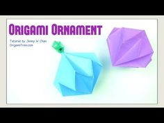 All Things Paper: Origami Ornament Techniques: Tips for Success