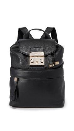 FURLA Lara Backpack. #furla #bags #leather #backpacks #