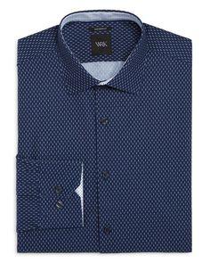 Wrk Mini Matchstick Slim Fit Dress Shirt