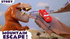 Disney Cars Toys Mcqueen Cars 3 Knockout Racing With Funny Minions