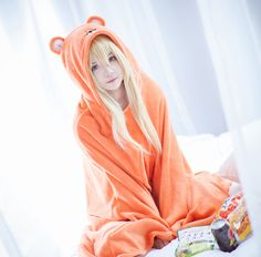 Himouto! Umaru-chan Umaru Doma Cosplay costume and wig comes from www.cosgalaxy.com  Details: www.cosgalaxy.com/anime-cospla…