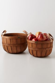 Hand-Braided Apple Baskets from Anthropologie - $60.00