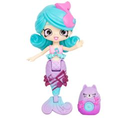Happy Places Shopkins Mermaid Tails - Harmony Mermaid Doll Top Toys For Girls, Little Girl Toys, Baby Girl Toys, Shoppies Dolls, Shopkins And Shoppies, Crochet Baby Halloween, Nom Noms Toys, Shopkins Happy Places, Macarons