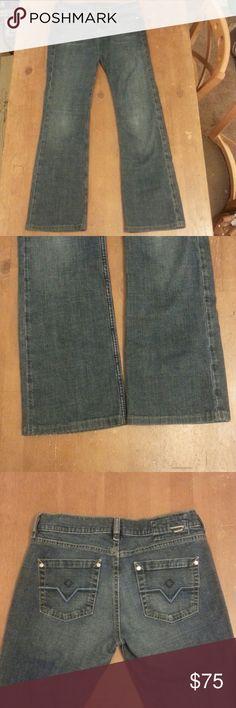 Diesel jeans Medium/ dark wash blue jeans. Straight leg. Beautiful condition!  Size 28. Diesel Jeans Straight Leg