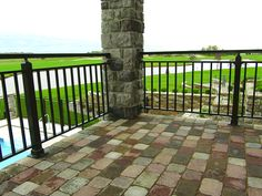 Aluminum Deck Railing View more Deck Railing Ideas http://awoodrailing.com/2014/11/16/100s-of-deck-railing-ideas-designs/