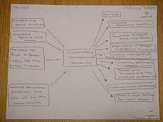 Multi-flow Map as a way to take notes during a video presentation (in this case, Brain Pop!)