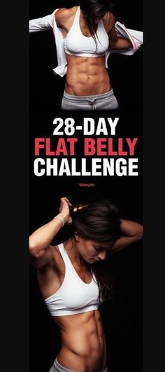 28 days flat belly challenge ( Video Tutorials) – FIT/NSTANTLY