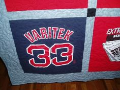Custom Tee Shirt Quilt Made Using  YOUR Tee shirts by MarysQuilts, $204.00