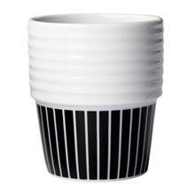 Filippa K Espresso Mug, 2pcs, Pinstripes