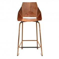 real-good-modern-counterstool---copper $399 BAR OR COUNTER HEIGHT