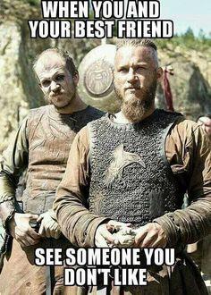 Funny Memes Cant Stop Laughing Jokes 2 Ragnar Lothbrok Quotes, Ragnar Lothbrok Vikings, Lagertha, Vikings Show, Vikings Tv Series, Vikings Season, Memes Humor, Funny Memes, Travis Fimmel